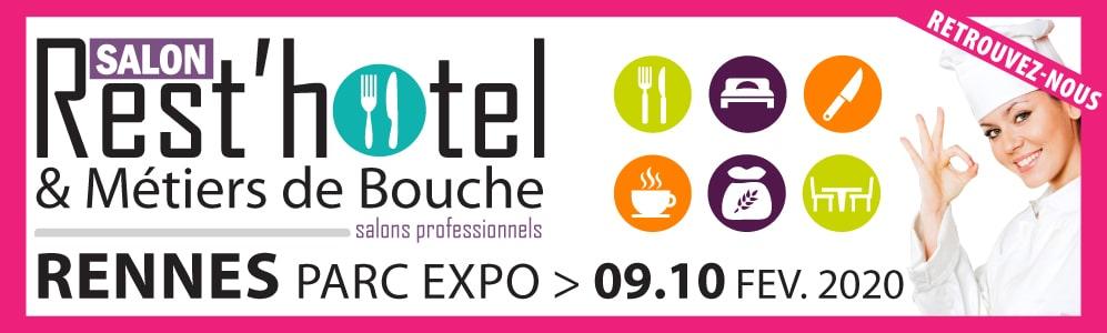 Salon REST'HOTEL et Métiers de Bouche et Métiers du Tourisme le 9 et 10 février